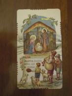 Nascita Gesù Bambino  - INNO A GESU' BAMBINO  (santino Fustellato) - Imágenes Religiosas