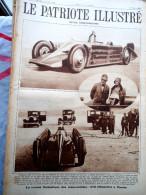 Le Patriote Illustré N°12 Du 24/03/1929 Vergnies Gossec Hasselt Congo Algérie Hippone Spahis Segrave Mussolini Daytona - Old Paper