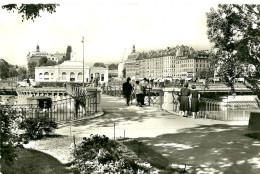 GE Genève. Vue Du Quai Des Bergues Depuis L'ile Rousseau. - GE Genève