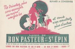 Buvard Laine Bon Pasteur - Paris - Textile & Vestimentaire