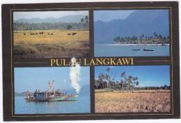 Malaysia - Pula Langkawi -   (+ Stamp/timbre) - Maleisië