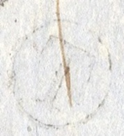 AUDE 10 SIGEAN LAC Type 15 Du 04/02/1854 Taxe DT 25 Boite Rurale T La Nouvelle TTB - Marcophilie (Lettres)