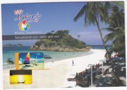 Visit Malaysia, Celebrating 50 Years Of Nationhood - Sensational Sun, Sand And Sea - Maleisië