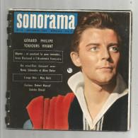 SONORAMA N° 14 , 1959 , 6 Disques Souples , Gérard PHILIPPE , 2 Scans , Frais Fr :4.25€ - Verzameluitgaven