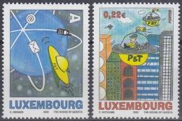 Luxemburgo 2002 Nº1540/41 Nuevo - Luxembourg