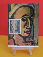 FDC Carte Maxi - Georges Rouault, Song Creux - Paris - 5.6.1971 - 1er Jour, - Cartes-Maximum