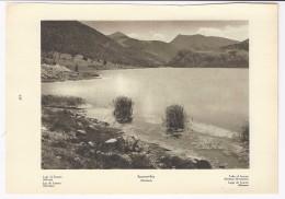Lago Di SCANNO  Aquila Abruzzo    -  Fotoincisione Anni ´20 - Estampes & Gravures
