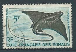 Cote Française Des Somalis  - 1958 -  Aigle De Mer  - N°296   - Oblit - Used - Costa Francese Dei Somali (1894-1967)