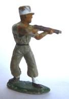 SOLDAT FIGURINE FIG STARLUX LEGIONNAIRE 83 TIREUR FUSIL DEBOUT 1955 (1) - Starlux