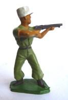 SOLDAT FIGURINE FIG STARLUX LEGIONNAIRE 83 TIREUR FUSIL DEBOUT 1955 (2) - Starlux