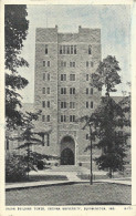 Bloomington - Indiana University - Union Building Tower - Bloomington