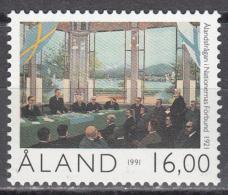 Aland     Scott No.  59     Mnh     Year  1991 - Aland
