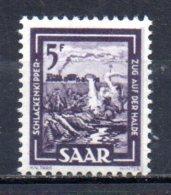 1/ Sarre N° 257 Neuf  XX MNH  , Cote :  4,00 € , Disperse Trés Grosse Collection ! - 1947-56 Gealieerde Bezetting