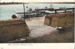 Memphis River Landing - Steamboat - Bâteau à Aube - Memphis