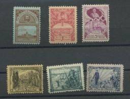 1915 Le Sou Du Vieillard   Superbe Gravure  E 1-6 **  Cote 42 Euros - Erinnophilie - Reklamemarken