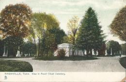 Nashville - View In Mount Olivet Cemetery - Nashville