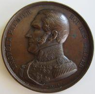 M01917 LEOPOLD PREMIER - ACADEMIE ROYALE DES BEAUX ARTS - ANATOMIE - C. PAYENL - 1842 - Son Buste (44g) - Royal / Of Nobility