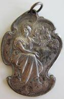 M01919 CERCLE HORTICOLE LA FLORE - 1er PRIX - LEUZE - 1926 (52g) Femme Tenant Une Couronne De Laurier Au Revers - Belgium