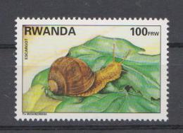 Rwanda Snail - 1995 * * - 1990-99: Ongebruikt