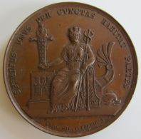 M01934 SPIRITUS UNUS PER CUNCTAS HABITAT PARTES  - HAMBURG - 1830 (48g) - Germania