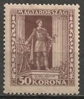 Timbres - Hongrie - 1923 - 50 K - Neuf Avec Trace De Charnière  -