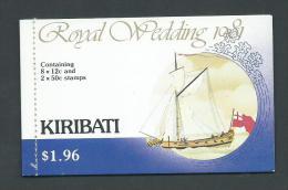 Kiribati 1981 Charles & Di Royal Wedding Complete Booklet Fine MNH - Kiribati (1979-...)