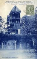 77 MONTHYON Le Moulin à Vent Détruit Par Les Allemands 5 Sept.1914 Bataille De La Marne - Autres Communes