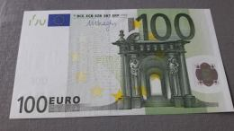 GERMANY : 100 Euro 2002 Draghi Letter X UNC/aUNC Print Code R002E1 - EURO