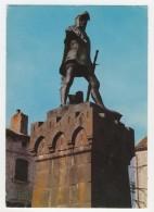 48 - Chateauneuf-de-Randon             Statue De Bertrand Du Guesclin - Chateauneuf De Randon
