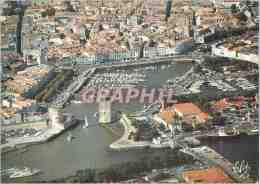 CPM La Rochelle Ville Historique Vue Generale Du Port Avec La Tour St Nicolas Et La Tour De La Chain - La Rochelle
