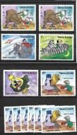 Sierra Leone, 1983 Disney Space Ark Fantasy Small Selection To 10c MNH (4298) - Disney