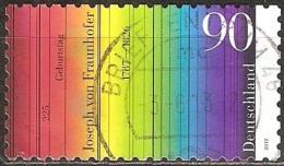 Allemagne - 2012 - Joseph Von Fraunhofer, Opticien Et Physicien - YT 2759 Oblitéré - Fisica