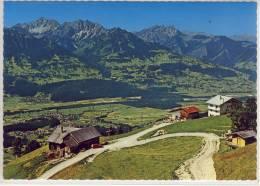 Blick Von Der SCHNIFISBERGSTATION, Vorarlberg Auf Rätikon, Gurtis Und Schlins - Österreich