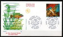 FDC Dept 83 (Var) Parc National De Port Cros 1978 HYERES - FDC