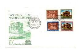 Fa341 - VATICANO FDC Capitolium 1964 :    NUBIA - FDC