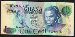 GHANA : 1  Cedi - 1976 - P13c - UNC - Ghana