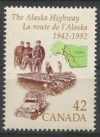 Kanada, 1992, 1288,  50 Jahre Alaska-Highway. MNH ** - 1952-.... Règne D'Elizabeth II