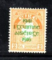 Y1883 - IRLANDA 1941 , Unificato N. 93  ***  MNH - 1937-1949 Éire