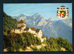 LIECHTENSTEIN  -  Vaduz Castle  Unused Postcard - Liechtenstein