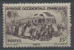 French West Africa (AOF), Train, Dakar, Senegal, 1947, MNH VF - Neufs