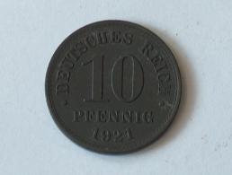 Allemagne 10 REICHS Pfennig 1921 A 1921A - [ 3] 1918-1933 : Weimar Republic