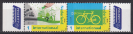 Nederland - 25 April 2016 - Europapostzegels: Denk Groen - Fiets Rechterzegel - Postfris/MNH - 2016