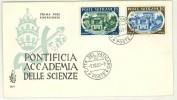 """CITTà DEL VATICANO - FDC - VENETIA - ANNO 1957 - 20"""" ANNIVERSARIO DELLA """"PONTIFICIA ACCADEMIA DELLE SCIENZE"""" - - FDC"""