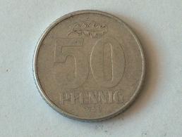 Allemagne 50 REICHS Pfennig 1958 - [ 6] 1949-1990 : GDR - German Dem. Rep.