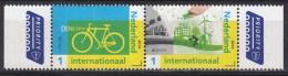 Nederland - 25 April 2016 - Europapostzegels: Denk Groen - Fiets Linkerzegel - Postfris/MNH - Europa-CEPT