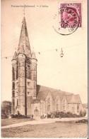CPA Rare - BELGIQUE - FRASNES LEZ BUISSENAL- L'église - Frasnes-lez-Anvaing