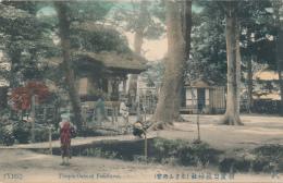 JAPAN - Temple Osan, Yokohama - By TONBOYA (Dragonfly), # (Y102), Circa 1910, Handcolored - Yokohama