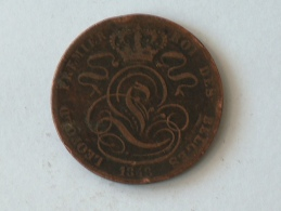 Belgique 5 Cents 1848 Centimes - 1831-1865: Léopold I