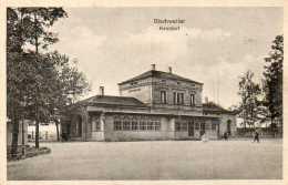 CPA - BISCHWILLER (67) - Vue De La Gare En 1920 - Bischwiller