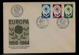 FDC -  EUROPA CEPT  - 1964 -  PORTUGAL - Europa-CEPT